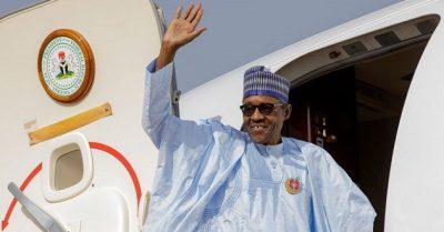 Buhari departs e1533301351276