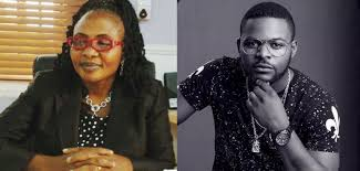 falz and mother
