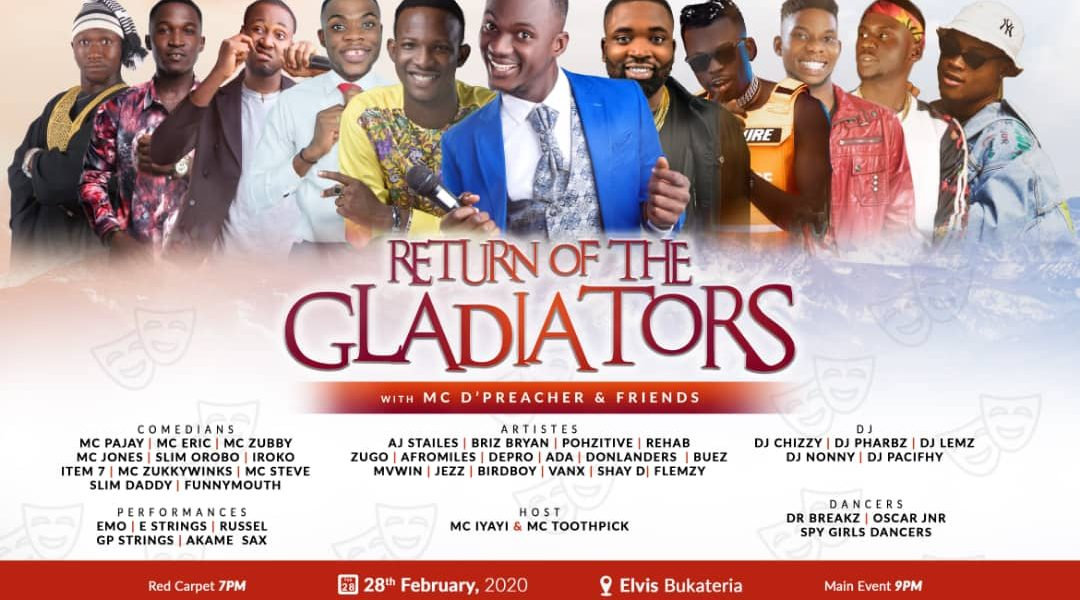Return Of The Gladiators coming to FUTO