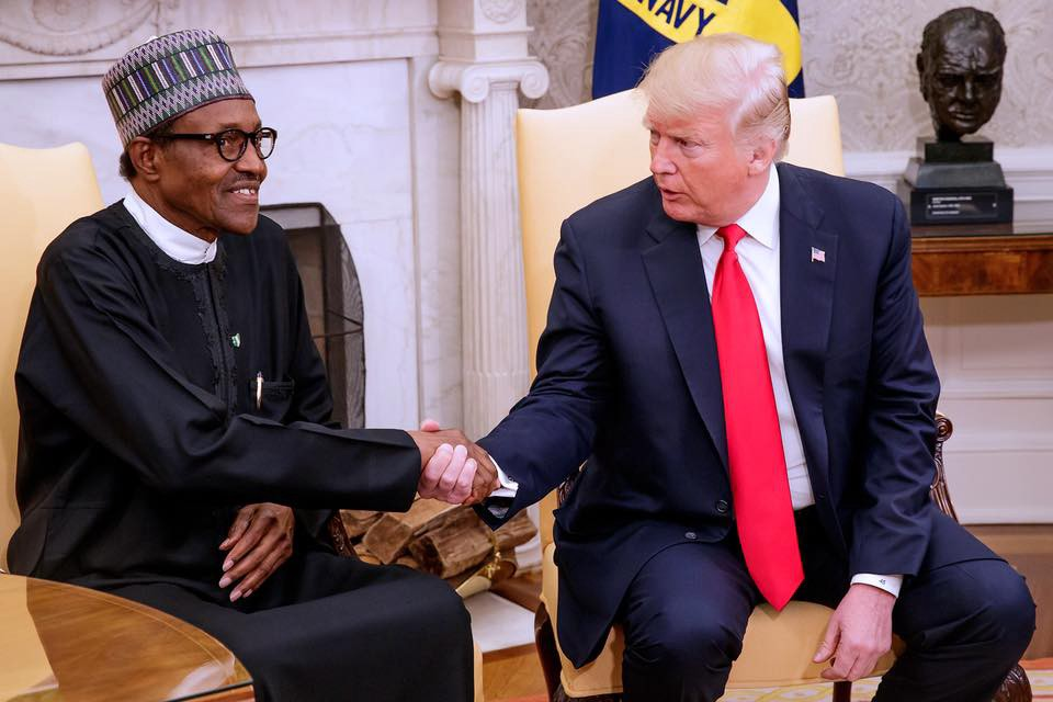 Buhari and trump on bossgist