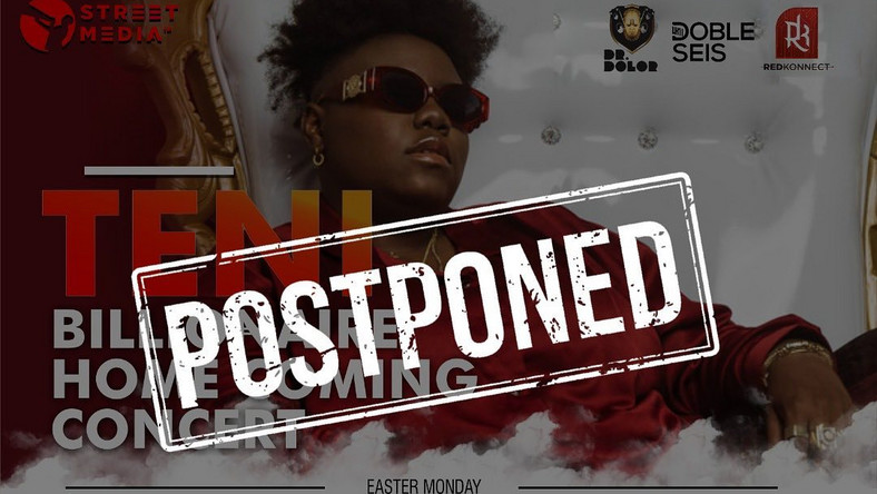 teni show cancelled