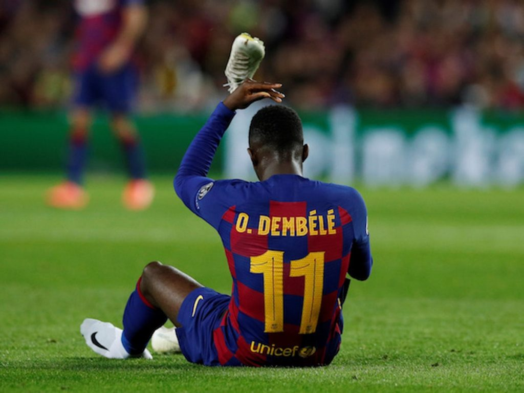 Barca places €60m tag for Dembele