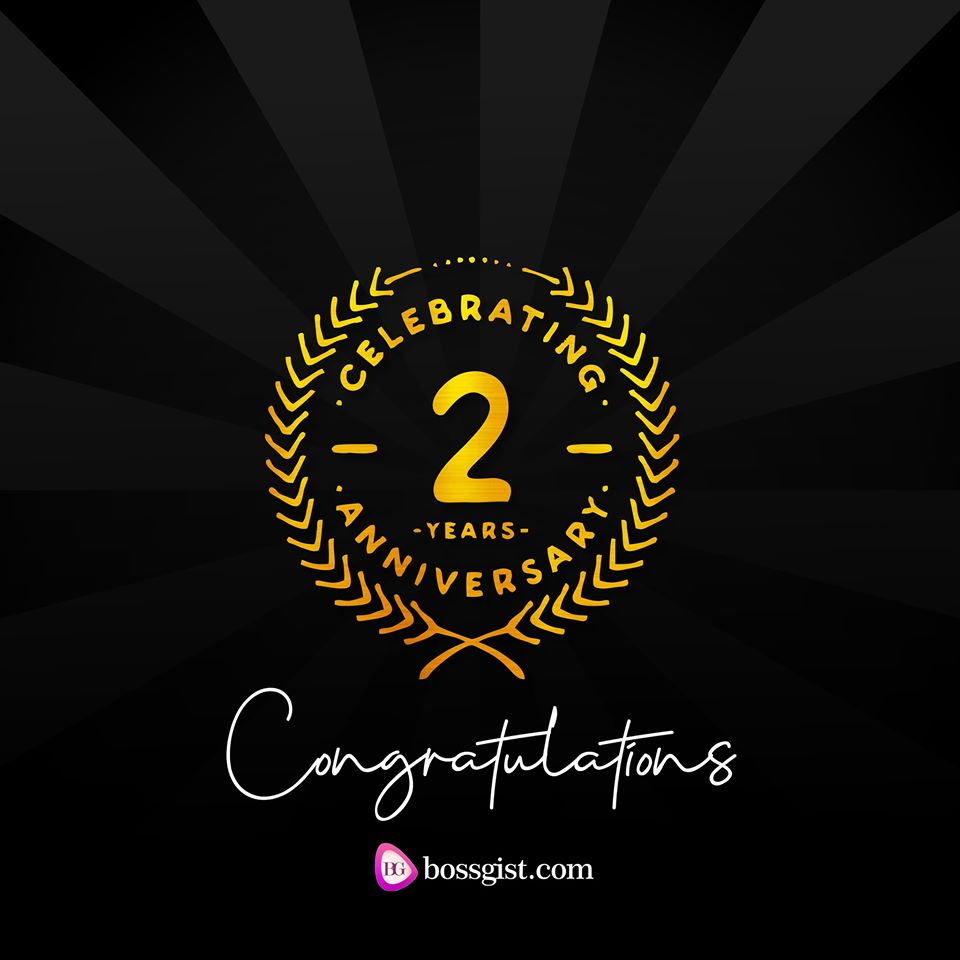 Bossgist is 2yrs