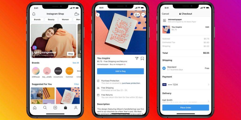 Facebook launches e commerce Shop across apps
