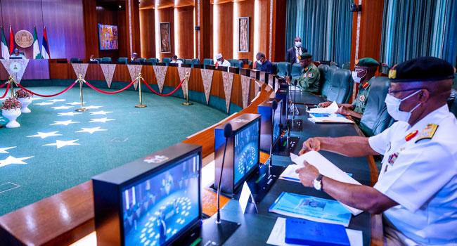 Muhammadu Buhari Security Chiefs