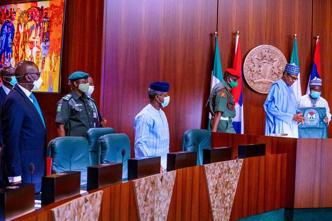 Muhammadu Buhari Security Chiefs4