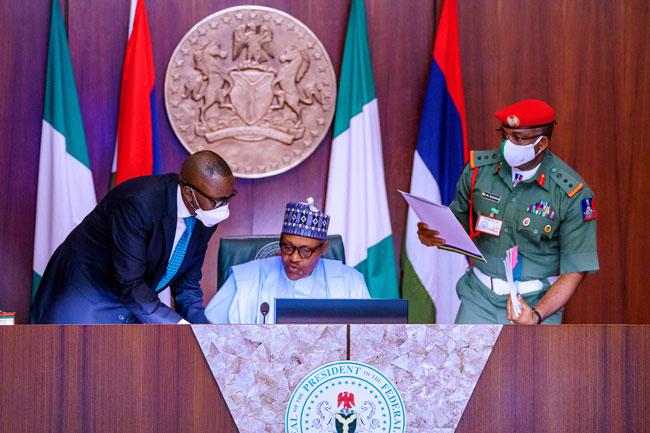 Muhammadu Buhari Security Chiefs5