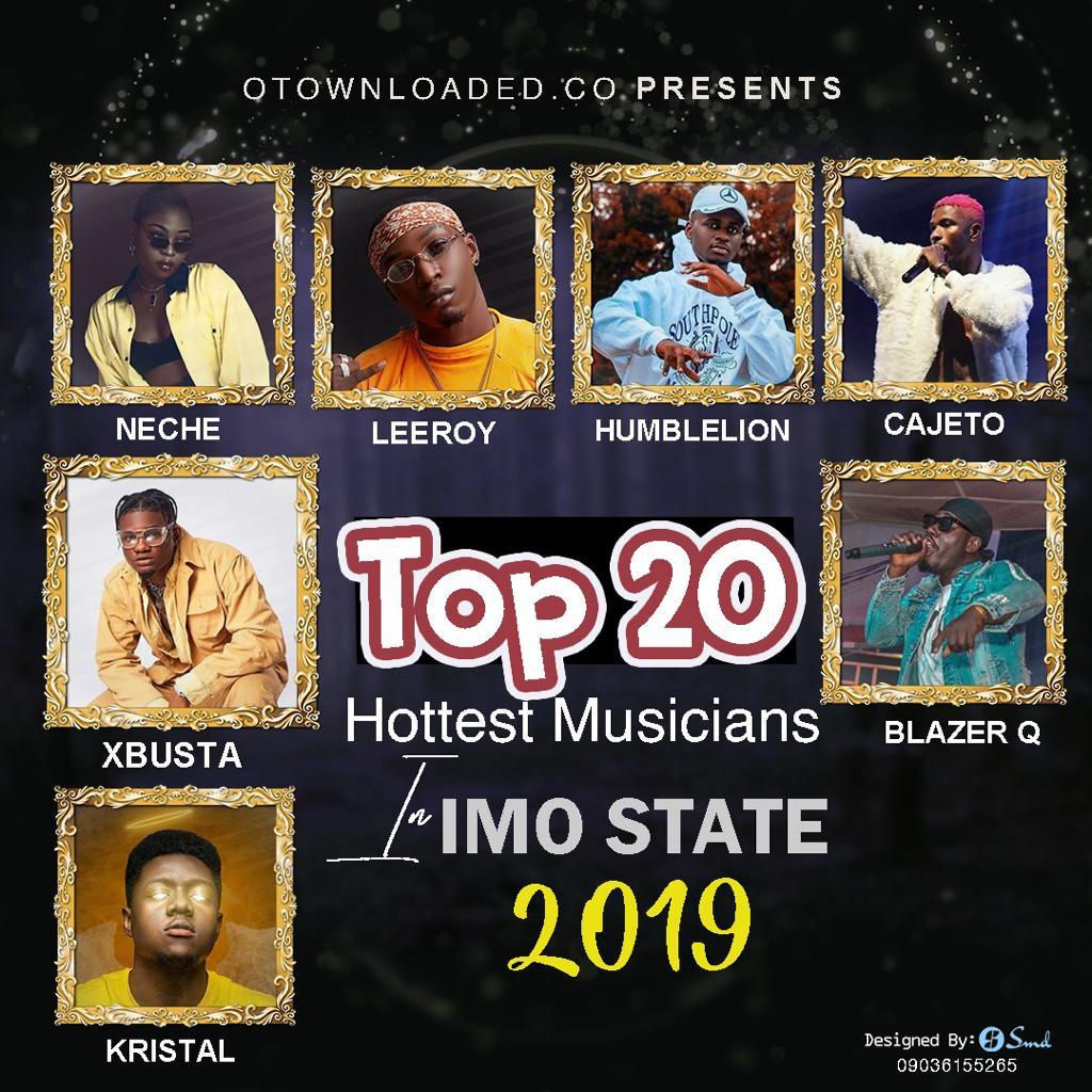 Owerri 20 best Muscians
