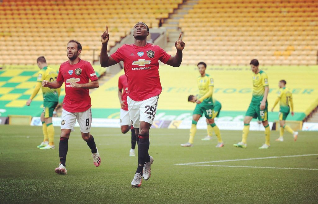 95 year old Manchester United record broken by Ighalo