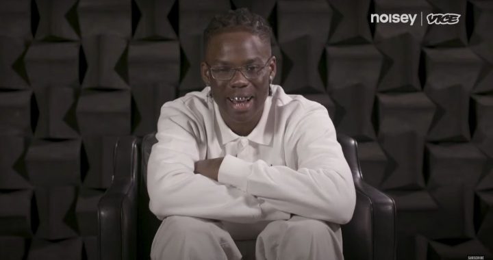 Rema on the interview