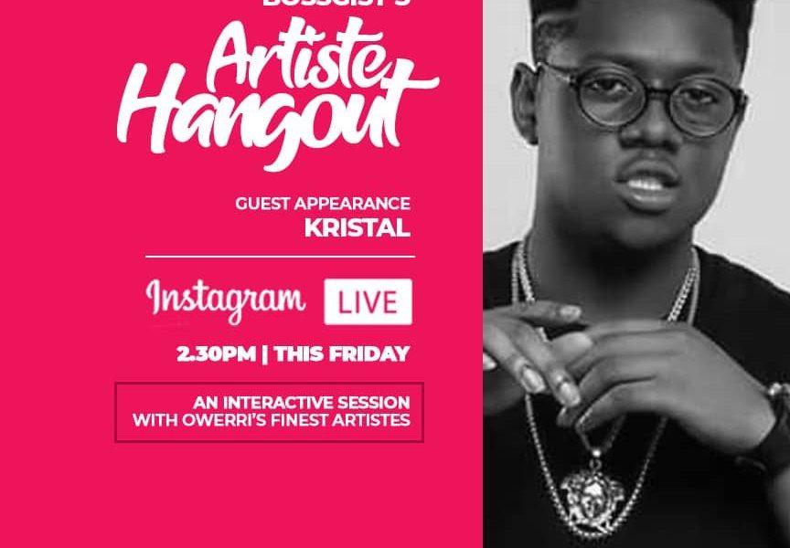 Meet Bossgist's Artiste Hangout next Guest