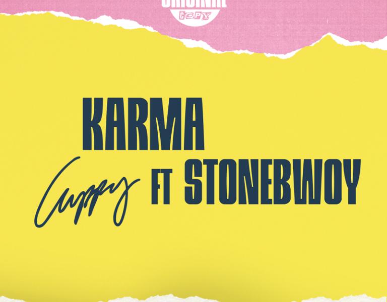 """Cuppy – """"Karma"""" ft. Stonebwoy"""