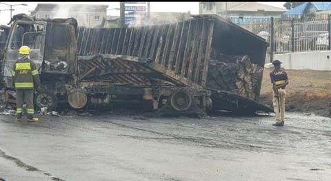 NNPC commiserates with Lagos State Government over explosion of Otedola Bridge.